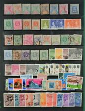 SEYCHELLES STAMPS SELECTION ON LARGE STOCK CARD   (C7)