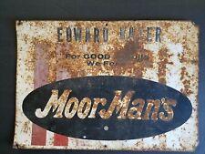 MoorMans Moor Mans Metal Sign 20