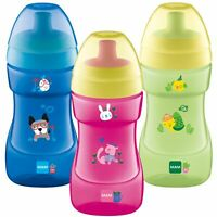 MAM Baby Infant Starter Trainer Drinking Drink Sports Bottle Cup 330ml