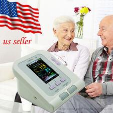 USA Automatic Digital LCD Arm Cuff Blood Pressure Pulse Monitor Sphgmomanom