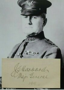 WW I U.S General James Harbord Chief Staff For Pershing Autograph RCA President