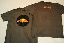 RED BULL RECORDS DISTRESSED LOGO GREY T SHIRT NEW OFFICIAL AWOLNATION BEARTOOTH