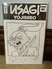 Usagi Yojimbo #1 1 IDW Stan Sakai ORIGINAL ART Sketch Cover Variant Signed