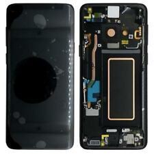 Pantalla LCD Original Samsung G965F Galaxy S9 Plus Negro Diapositiva Vidrio Sche