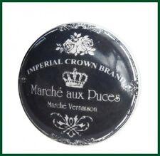 Möbelknauf dunkelgrau Knauf Marché Keramik