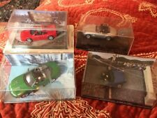 James Bond 007 Cars Lot Jaguar, Renault, BMW And Ferrari