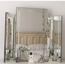 Glass Folding Dressing Table Mirror