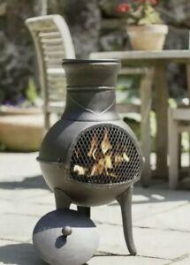 🔥La Hacienda PANAMA Chiminea! ✅ Brand New 📦 Log Burner, Fire Pit, Fast Postage