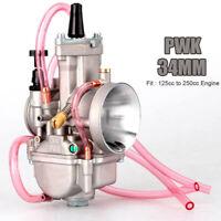 Moto 34mm Carburateur pour Pwk Keihin Koso Oko puissance Jet 2 Temps 4 Temps
