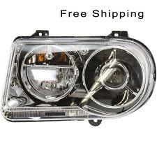 Halogen Head Lamp Assembly Driver Side Fits Chrysler 300 C Models CH2502167