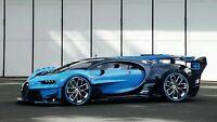 Iconic Arts Laminated 42x24 Poster: Sports Car - Bugatti
