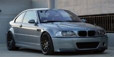 BMW E46 M3 CSL style front bumper + splitter