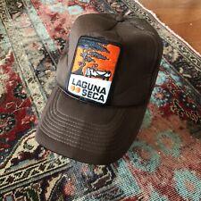 Laguna Seca 70s Racing Car Motorcycle Raceway Salinas CA Trucker Vintage Hat