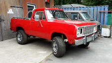 Pickup, Dodge D100, Plymouth Trail Duster, Oldtimer, TOP Winterprojekt !!