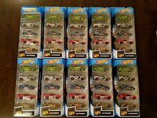Hot Wheels 2018 Nightburnerz 5-Pack Honda CRX Lancer Evo Nissan 350Z (Lot of 10)