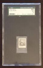 1950 R423 Gumball Machine Dick Irvin Chicago Blackhawks Hockey Card Graded