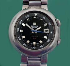 Vintage 60s TISSOT Super Compressor T12 Automatic Divers Men's Watch Omega line