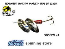 TANDEM ROTANTE PANTHER MARTIN  VESPA ROSSA  GR 18 (PALETTA 12+15)