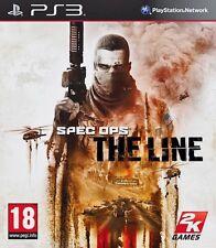 Spec Ops The Line PS3 PlayStation 3 Video Juego Perfecto estado UK release