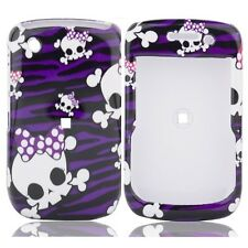 Purple Skulls Hard Case Cover for BlackBerry Curve 8530