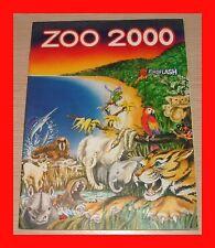 ALBUM EUROFLASH 1987 ZOO 2000 VUOTO Qs EDICOLA