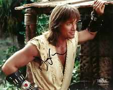 KEVIN SORBO GENUINE AUTHENTIC SIGNED OFFICIAL HERCULES 10X8 PHOTO AFTAL & UACC D