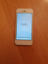 Altes Apple Iphone Modell 5 Silber A1429