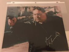 JOSEPH GANNASCOLI Sopranos Actor Autograph Signed Color Photograph