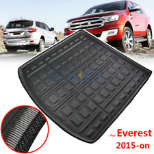 For Ford Everest 2015-2019 Boot Cargo Tray liner Rear Trunk Floor Mat Carpet