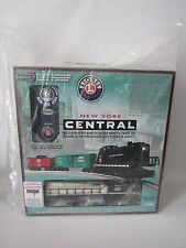 Lionel New York Central RS-3 Ready-To-Run O-Gauge Remote Train Set FactorySealed