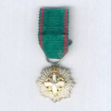 ITALY. Miniature Order of Merit of the Italian Republic grand officer, 1951-2001