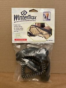 NEW! 2011 Yaktrax WINTERTRAX Spikeless Ultralight Easy to use ONE SIZE FITS MOST