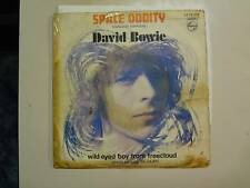 "DAVID BOWIE: Space Oddity-Wild Eyed Boy From Free Cloud-Spain 7"" 70 Philips PSL"