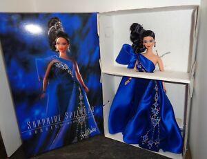 NIB Barbie Doll 1996 SAPPHIRE SPLENDOR Bob Mackie JEWEL ESSENCE 15523