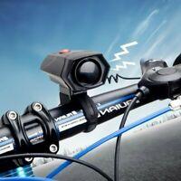 Ciclismo Corna Bici Manubrio Bicicletta Elettronica Bell Horn suono forte chiaro