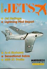 WARBIRDS WORLDWIDE JETS SPECIAL FOUGA MAGISTER_CAC SABRE RAAF_RCAF_LANSEN_MIG-21