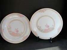 "2 CROWN MING FINE CHINA JIAN SHIANG CHRISTINA PATTERN 10.5"" dinner Plates"
