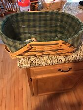 1999 Longaberger Tradition Generosity Basket Combo with Divided Protector