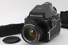 【 EXC+++++】MAMIYA M645+rare Lens Secor CE 70mm f2.8 W/WAIST LEVEL FINDER from JP