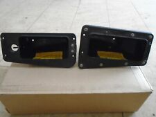 Honda GL1200 Interstate Right And Left Fairing Pockets 1984 Used
