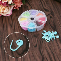 104/120pc Amazing Knitting Crochet Locking Stitch Needle Clip Marker Holder Tool