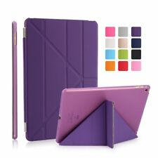 "Apple iPad 9.7"" iPad 1 2 3 4  Air 1 2 Case Magnetic Cover Auto Sleep Wake  + Pen"
