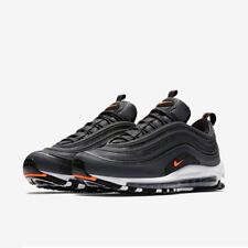 Nike Air Max 97 Black Anthracite White Orange Uk Size 6 Eur 39 AQ7331-002