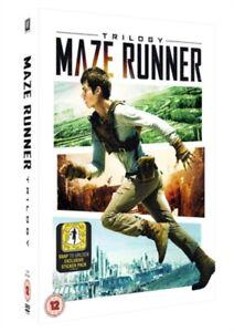 The Maze Runner Trilogy -  DVD  3 Discs