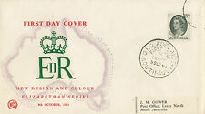 SCARCE Wesley WCS FDC overprinted by Overseas Mailer in USA 5d green QE2 issue