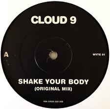 "CLOUD 9 - Shake Your Body (12"") (Promo) (VG-/NM)"