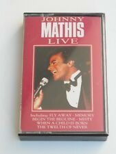 Johnny Mathis Live - Cassette Tape, Used Good