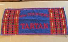 "Vintage 19 1/2"" x 9"" Wm. Younger's Tartan Bar Towel"