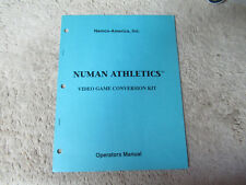 NUMAN ATHLETICS NAMCO   arcade game manual