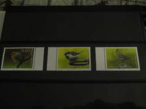 2020 Luxembourg Europa CEPT Set of 3 Bird stamps in mint condition - MNH